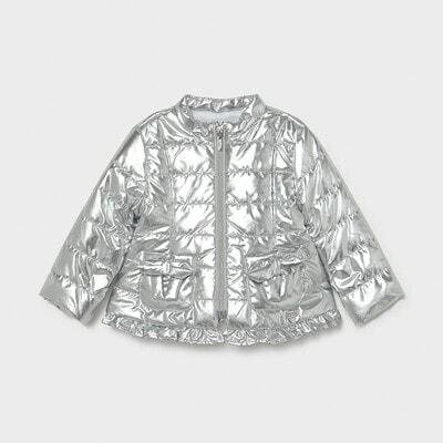 Куртка, Сріблястий, Mayoral Іспанія, 21VL