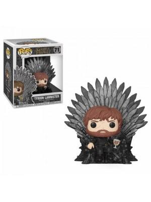 """ИГРУШКА Фигурка, Виниловая Funko POP! Deluxe """"Game of Thrones"""" Тирион на железном троне, FUNKO США"""