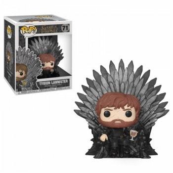 """ІГРАШКА Фігурка, Вінілова  Funko POP! Deluxe """"Game of Thrones""""   Тіріон на залізному троні, FUNKO США"""
