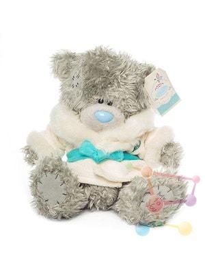 Игрушка Мягкая, Мишка Тедди в белой шубке с поясом, 23 см, Me To You Великобритания