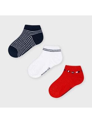 Шкарпетки, 3 пари, Червоний, Mayoral Іспанія, 21VL