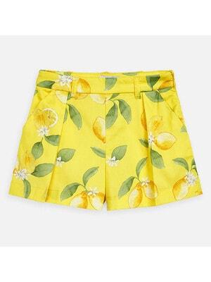 Шорти, в лимонах, Жовтий, Mayoral Іспанія, 20VL