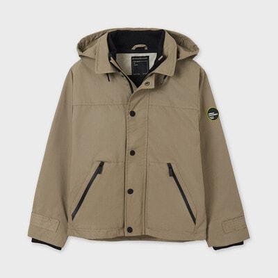 Куртка, з капюшоном, Бежевий, Mayoral Іспанія, 21VL