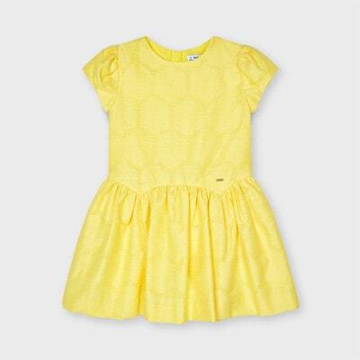 Сукня, Жовтий, Mayoral Іспанія, 21VL