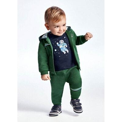 Комплект Спортивний, Кофта + штани 2 шт. (1 - сині), утеплений, Зелений, Mayoral Іспанія, 22OZ