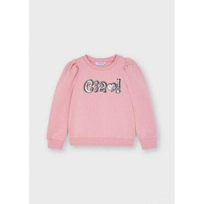 Пуловер, утеплений, Рожевий, Mayoral Іспанія, 22OZ