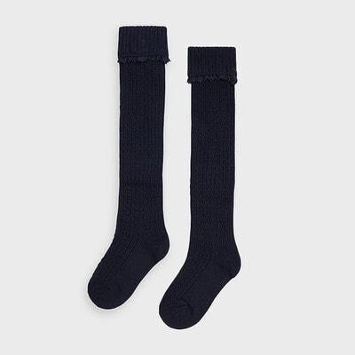 Шкарпетки, Гольфи, Темно-синій, Mayoral Іспанія, 21OZ