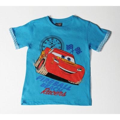 Футболка, сэр. Cars, Голубой, Disney Польша, 21OZ