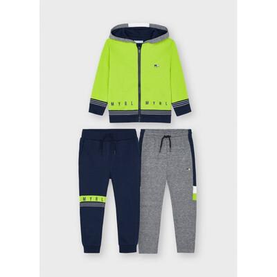 Комплект Спортивний, Кофта + штани 2 шт., утеплений, Зелений, Mayoral Іспанія, 22OZ