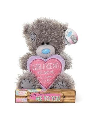 """Іграшка М'яка, Ведмедик Тедді з серцем """"Ми повинні бути разом"""", 18 см, Me To You Великобританія"""