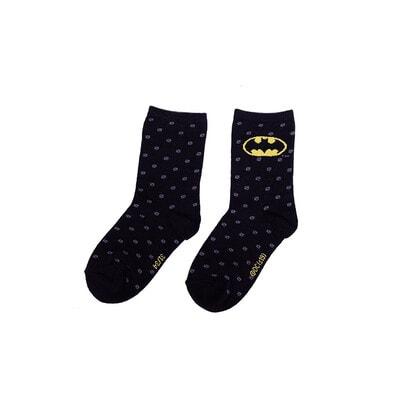 Шкарпетки, BatMan, Чорний, Disney Польща, 21OZ