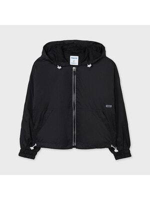 Куртка, з капюшоном, Чорний, Mayoral Іспанія, 21VL