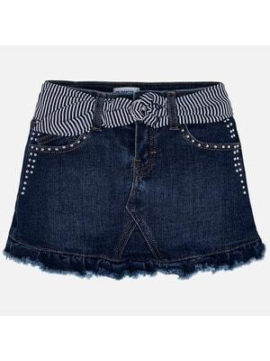Спідниця, джинсова, Темно-синій, Mayoral Іспанія, 20VL