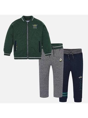 Костюм Спортивний, Кофта + штани 1-сині, 2-сірі, Зелений, Mayoral Іспанія, 20OZ