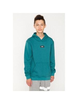 Пуловер, з капюшоном (утеплений), Зелений, Reporter young Польща, 21VL