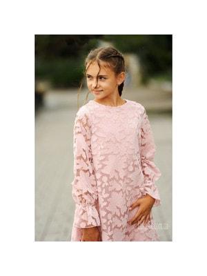 Сукня, довгий рукав, Рожевий, Mayoral Іспанія, 20OZ