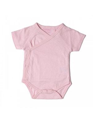 Комплект, Боді короткий рукав 2 шт., Рожевий, Babybol Іспанія, 19VL