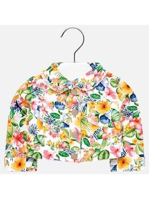 Піджак, в квітах, Білий, Mayoral Іспанія, 19VL