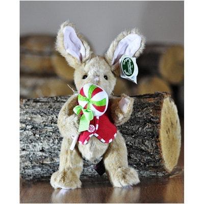 Іграшка М'яка, Зайчик Берінгтон в жилетці з цукеркою на паличці(25 см), Me To You Великобританія