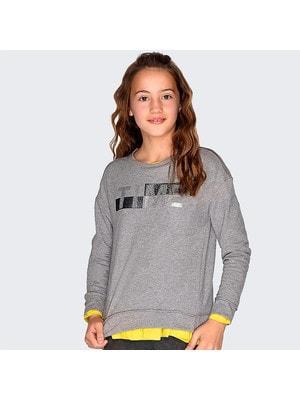 Пуловер, (сріблястим TIME), Сірий, Mayoral Іспанія, 20OZ